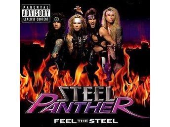 Steel Panther: Feel the steel 2010 (CD)