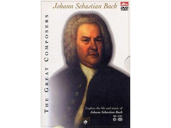 Bach: The great composers (DVD + 2 CD)