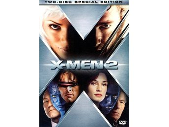 X-Men 2 [DVD, 2-disc] (Keep case med slip case)