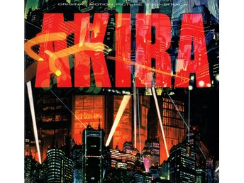 AKIRA - ORIGINAL MOTION PICTURE SOUNDTRACK. LP