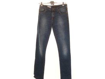 Nudie Jeans co, Jeans, Strl: 28/34, Blå