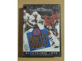 EA Hockey  Sega Mega Drive med manual