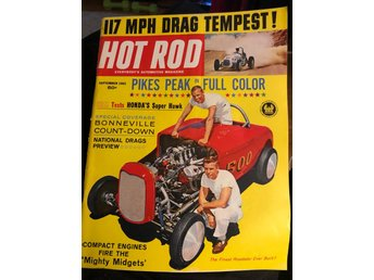 Hot rod Magazine Sep.  1962 Buick v8 in a Comet  Hotrod