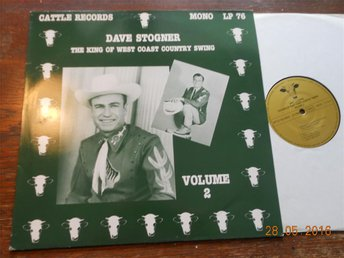 DAVE STOGNER - King of West Coast Country Swing, Vol 2 Cattle Records LP 76