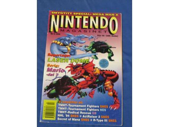 Nintendomagasinet Nintendo Magasinet 1994 Nr 2 - annons #2