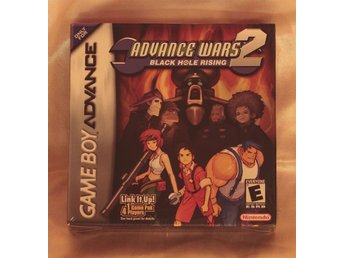 Advance Wars 2: Black Hole Rising - GBA (US ver) - NY/NEW, FACTORY SEALED (RARE) - Haparanda - Advance Wars 2: Black Hole Rising - GBA (US ver) - NY/NEW, FACTORY SEALED (RARE) - Haparanda