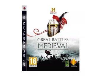 History: Great Battles Medieval - Playstation 3 - Varberg - History: Great Battles Medieval - Playstation 3 - Varberg