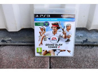 Playstation 3 PS3 spel Grand slam tennis 2