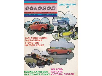 Colorod 1973-9 Dragracing..Dodge Coronet..Toyota Funny Car