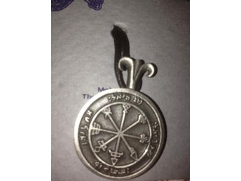 King Solomon Pendant Seal First Pentacle of Venus Brings friendships to the poss