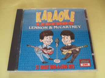 Karaoke Legends - Lennon & McCartney - 1993 - CD - Odensbacken - Karaoke Legends - Lennon & McCartney - 1993 - CD - Odensbacken