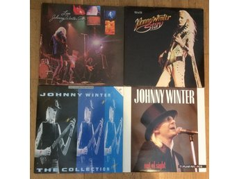4 st JOHNNY WINTER album