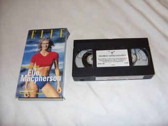 Elle Macpherson Your Personal Best Workout Portugal utgåva Engelsk VHS PAL