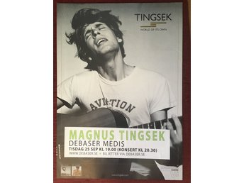 Poster Tingsek World Of Its Own Debaser