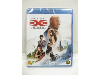 XXX: Return of Xander Cage (Blu-ray) - MKT FINT SKICK!