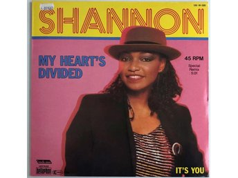 "Shannon ‎– My Heart's Divided (Special Remix) 1984 12"" Maxi"
