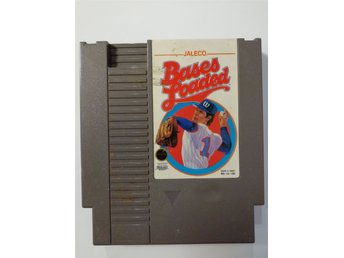 Bases Loaded NES Nintendo NTSC