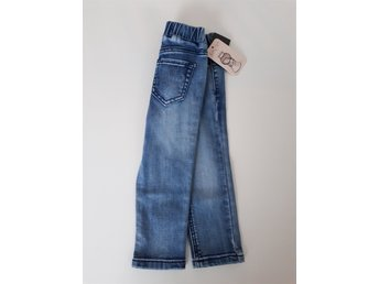 Nya jeansleggings strl 86