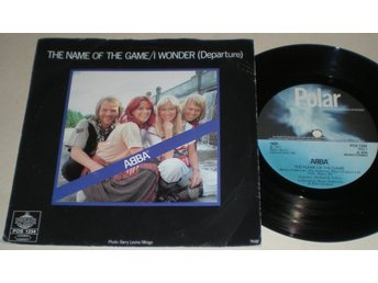 Abba 45/PS The name of the game 1977