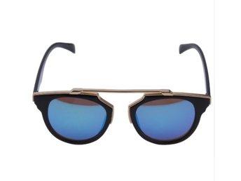 Dam Solglasögon Design Cat Eeye UV400 Svart Blå (339749270