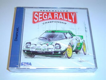Sega Rally 2 Sega Dreamcast PAL *NYTT*