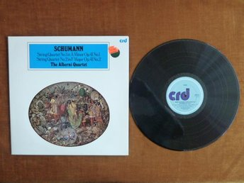 SCHUMANN, THE ALBERNI QUARTET, LP, LP-SKIVA
