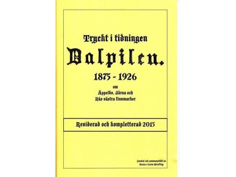Ur Dalpilen: om Äppelbo, Järna o Nås v:a finnmark Vansbro - Köping - Ur Dalpilen: om Äppelbo, Järna o Nås v:a finnmark Vansbro - Köping