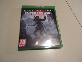XBOX ONE SPEL  RISE OF THE TOMB RAIDER