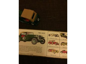 Matchbox Models of yesteryear 1945 mgtc