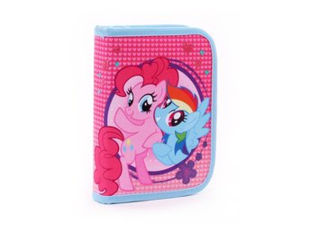 MY LITTLE PONY Fyllt Pennskrin PINKIE PIE RAINBOW DASH Pennfodral