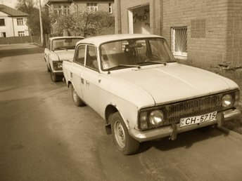 Photograph of old USSR car 'Mosrvich' by Andrei Autumn