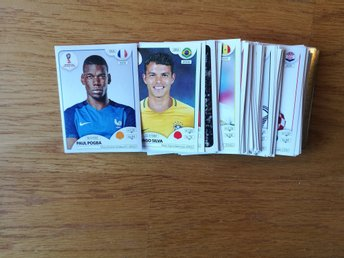 Panini bilder/stickers lot. VM 2018