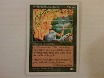 Verduran Enchantress - Magic the Gathering - Rare