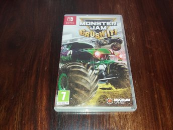 Monster Jam Crush It!, Nintendo Switch, Komplett!