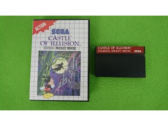 Castle of Illusion Sega Master System 8-bit