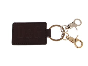Ny Dolce   Gabbana D G Nyckelring Nyckelhållare Skinn bf022ac67ba94
