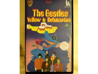 THE BEATLES WELLOW SUBMARINES FIRST RELEASE ON VHS COLLECTORS ITEM