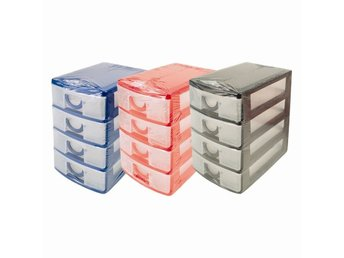 Drawer small DESK DRAW 4Storage Tray Office/Home Organiser Jewellery Box Plastic