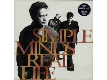 Simple Minds - Real Life LP / Virgin 1991
