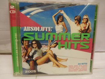 ABSOLUTE SUMMER HITS - 2005 - 2-CD