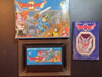 Dragon Quest 2 ( Dragon Warrior II ) till famicom - NES