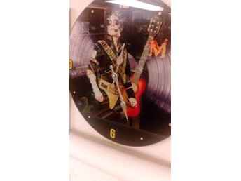 Väggklocka 38 cm. Michael Jackson - Bromölla - Väggklocka 38 cm. Michael Jackson - Bromölla