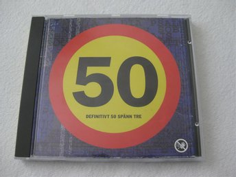 DEFINITIVT 50 SPÄNN TRE - CD 1994
