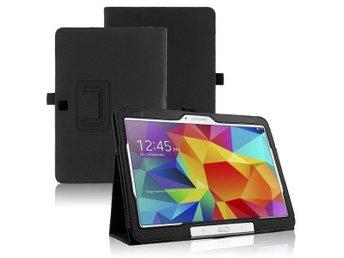 Samsung Galaxy Tab 4 10.1 Fodral/Skydd/Skal/Väska Läder - Karlstad - Samsung Galaxy Tab 4 10.1 Fodral/Skydd/Skal/Väska Läder - Karlstad