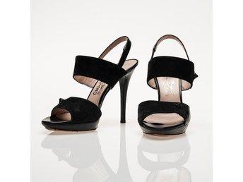Exklusiva sandaletter f Salvatore Ferragamo. Äkta 36,5 Italy - Stockholm - Exklusiva sandaletter f Salvatore Ferragamo. Äkta 36,5 Italy - Stockholm