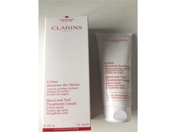 clarins hand and nail treatment cream OBS! 200ml - Borås - clarins hand and nail treatment cream OBS! 200ml - Borås