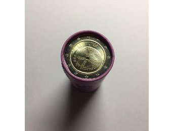 2 euro coins in Bank Roll - The Baltic culture – Lithuania, 2016