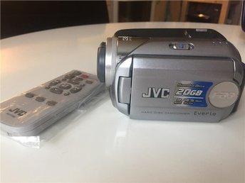JVC videokamera med hårddisk 20GB nästan ny - Malmö - JVC videokamera med hårddisk 20GB nästan ny - Malmö