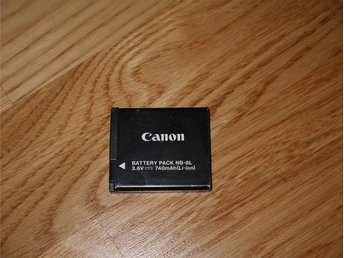 Canon NB-8L Original Batteri