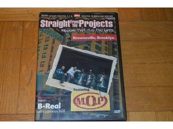 Straight From The Projects -  Brownsville Brooklyn - B-Real M.O.P - DVD